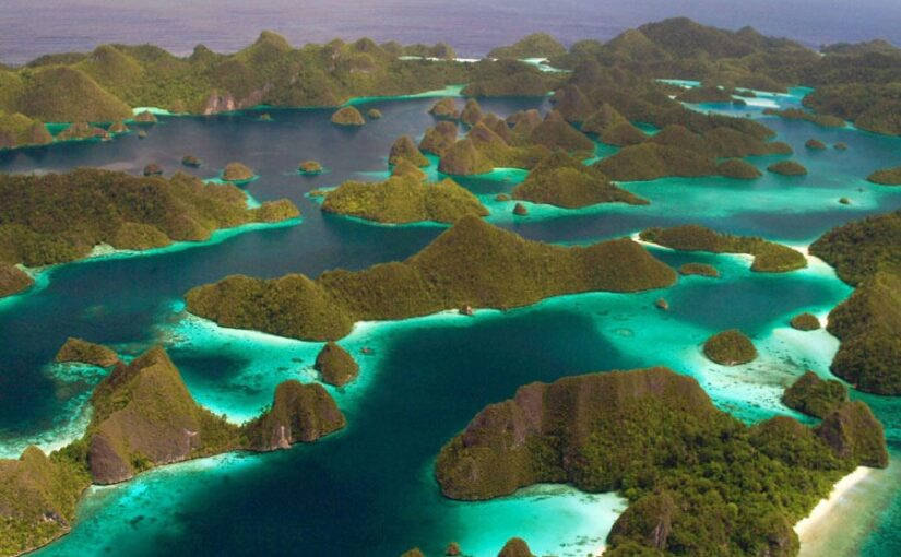 Wayag islands at Raja Ampat