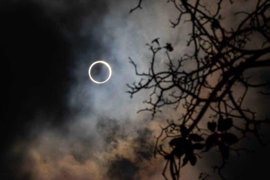 2019 Annular Solar Eclipse, as seen from Singapore